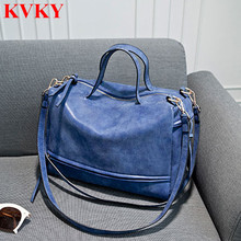 2016 New Autumn Woman Shoulder Bag High Quality Women Nubuck Leather Handbags Ladies Vintage Motorcycle Crossbody Messenger Bags
