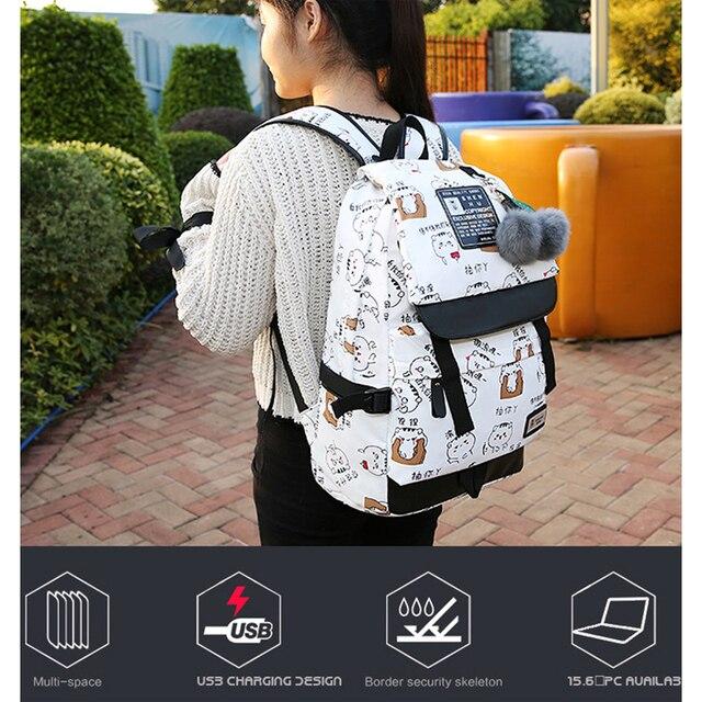 Fashion Backpack Male Female Laptop Shoulder Bag Best Travel Backpack For Men Women 3