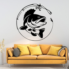 Modern fish Waterproof Wall Stickers Home Decor Bedroom Nursery Decoration Removable Decals