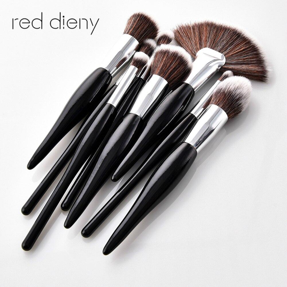 Brushes For Make Up  8pcs  Makeup Brushes Set Classical Black Handle Foundation Powder Eyeshadow Eyeliner Lip Brush Tool