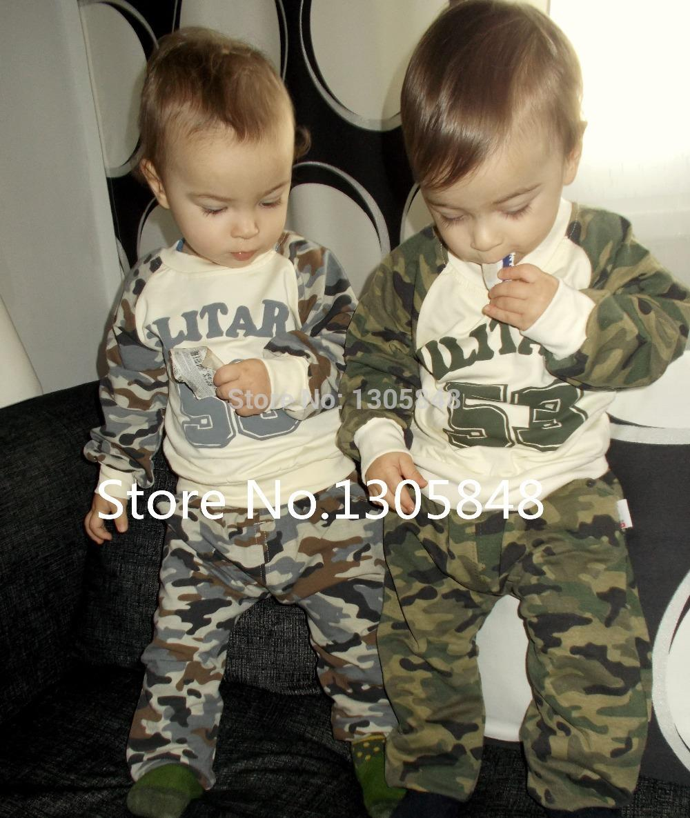baby boys clothing sets kids clothes military army cotton children tracksuits child sports suits for boys roupas infantis menino