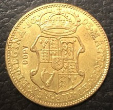 1693 Inglaterra 1 Guiné-William & Mary. 9999 puro Banhado A Ouro Copiar Coin(China)