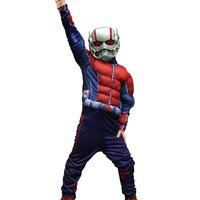 Ant Mężczyzna Halloween Cosplay Costume dla Dzieci Kombinezony Maska Dla Dzieci Chłopcy Odzież Movie Superhero Avengers Mięśni party odzież