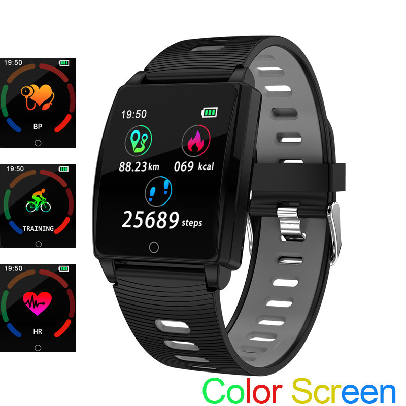 Montre Smart Watch R17 Coeur Taux Smart Bracelet Sang Pression Fitness Tracker Écran Couleur Multi Bande De Sport pour XIAOMI HUAWEI IPHONE