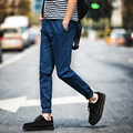 2016 новый стиль мужской моды случайные лодыжки длина брюки штаны мужчины бегунов гарем брюки мужчины хорошее качество бренда-одежда