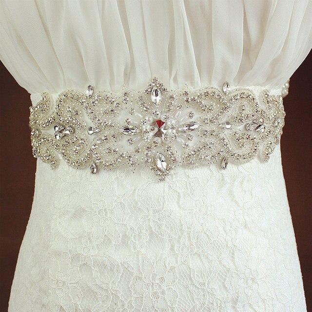Wedding Bridal Sash Belt Crystal Rhinestone Sash Prom Sash Wedding Sash Belt Women belt noble wedding accessories