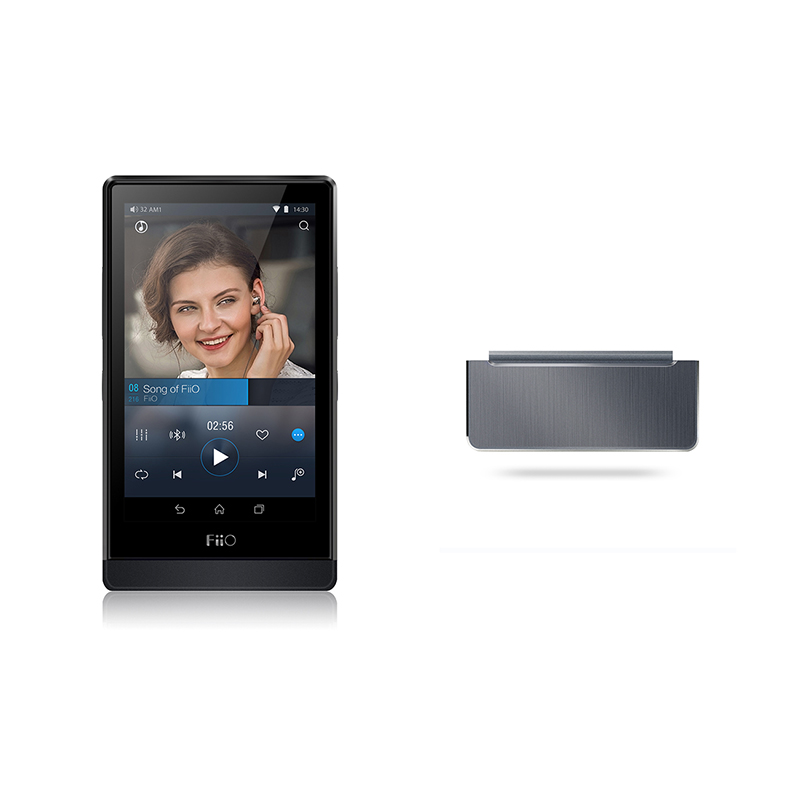 FiiO Hi-Res Android-based WIFI Bluetooth  Lossless DSD Portable Music  Music Player X7 with Amplifier Module AM2