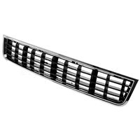 New 1Pc Front Bumper Center Lower Grille Grills Chrome Style For Audi A4 Sedan Modle 2002
