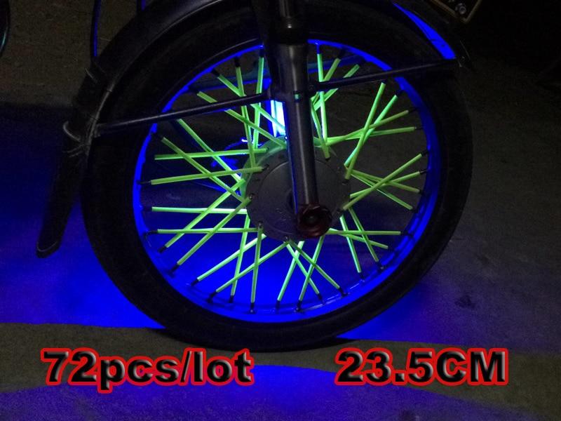 Motocross SPOKE SKINS Wheel RIM SPOKE SHROUDS COVERS for KAWASAKI CRF YZF r3 KX RMZ WR250 MX Dirt Bike exc 250 t max 530 xjr