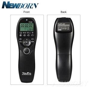 Image 4 - Youpro YP 880 s2 câmera com fio temporizador de liberação do obturador controle remoto display lcd para sony a58 NEX 3NL a7 a7r a3000 a5000 a6000
