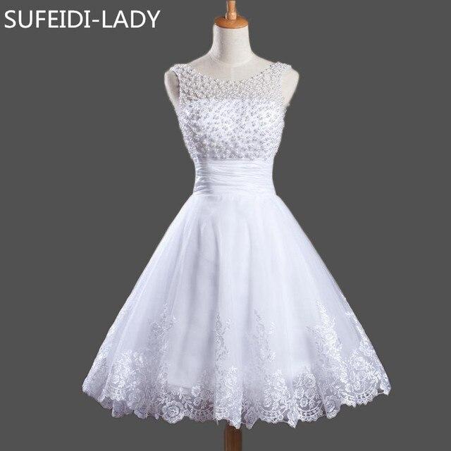 312073079 Vestido De Fiesta Chicas Dulce Corto Baile de promoción con Perlas Corpiño  Applaiques Organza Mini Vestidos