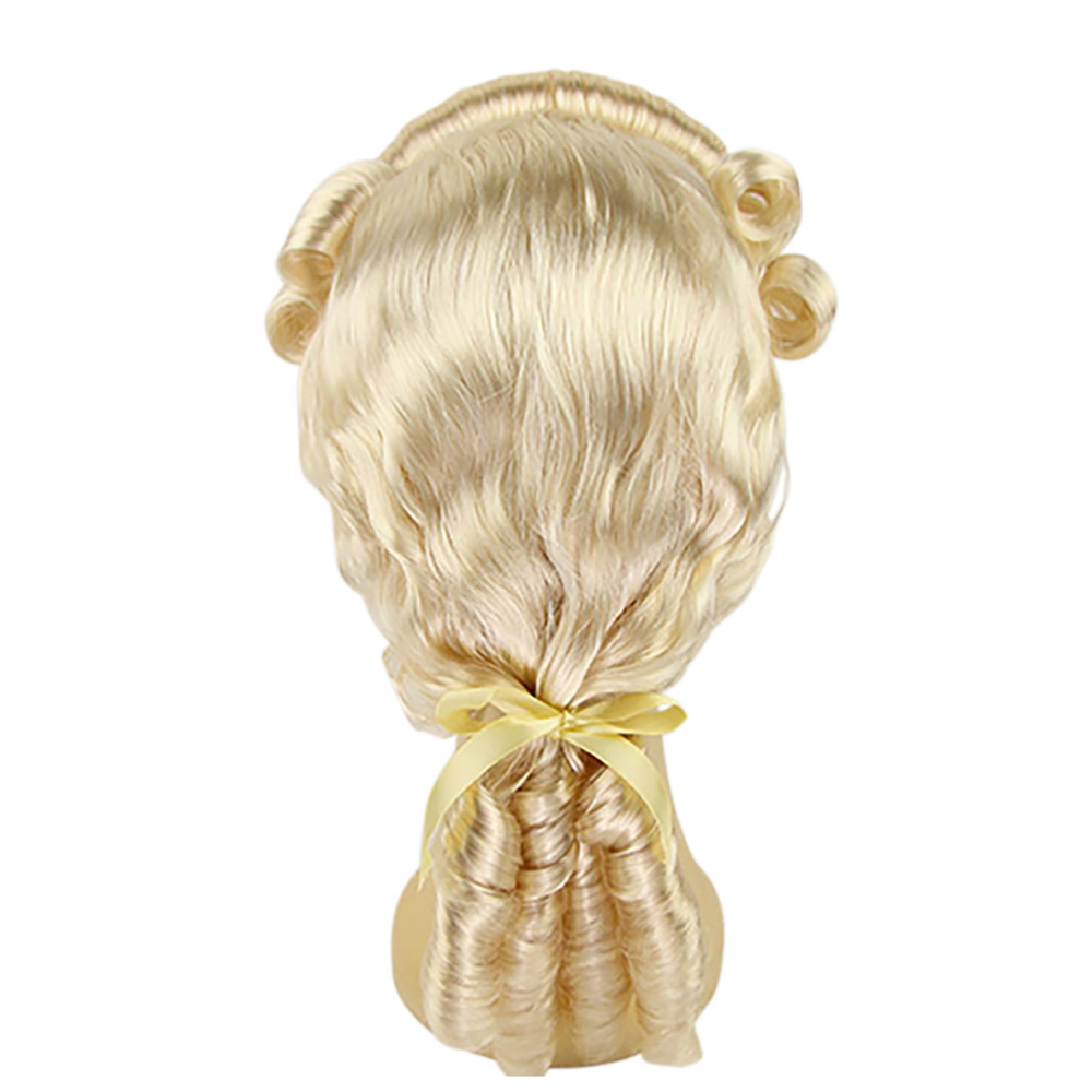 Rococo 18th Century hairstyle lacefront wig for men