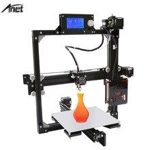 Anet A2 3D Printer LCD2004 220*220*220mm/220*270*220 option Prusa i3 3d Printer Kit DIY With 10M Filament