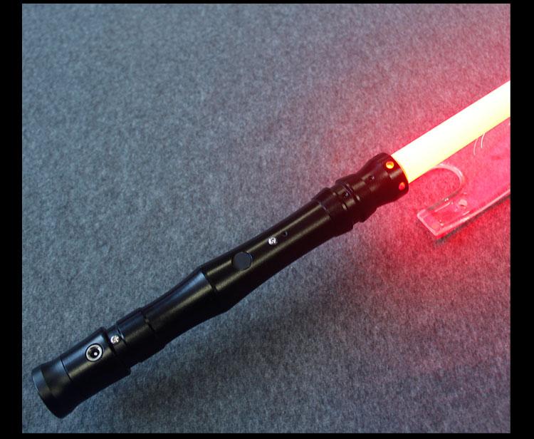YDD GeneralII qualité supérieure Cosplay Sabre laser avec Sound Light led Rouge Vert Bleu Sabre laser Métal Épée Jouets D'anniversaire Star War