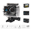 4K Action Camera for Outdoor Sports Ultra HD Video Camera 2.7K@30fps 1080P Fotocamera WiFi 170 Degree Wide-angle Camera
