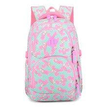children schoolbags kids primary escolar backpack Princess bookbag satchel mochila orthopedic waterproof infantil 2018