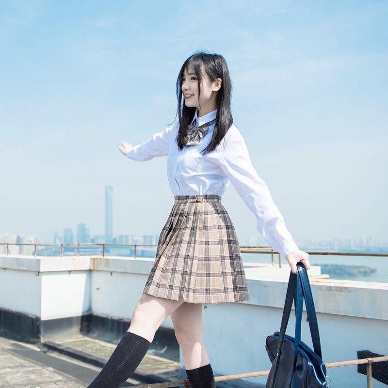 2019 été preppy style jk école uniforme sans manches pull gilet japonais uniforme coton cosplay tricots chandail