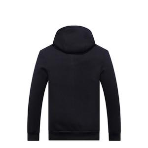Image 3 - Grandwish Hoodies Men Hooded Casual Wool Winter Thicken Warm Coat Male Velvet Male Sweatshirts Coat Zipper Hooded Jackets ,DA943