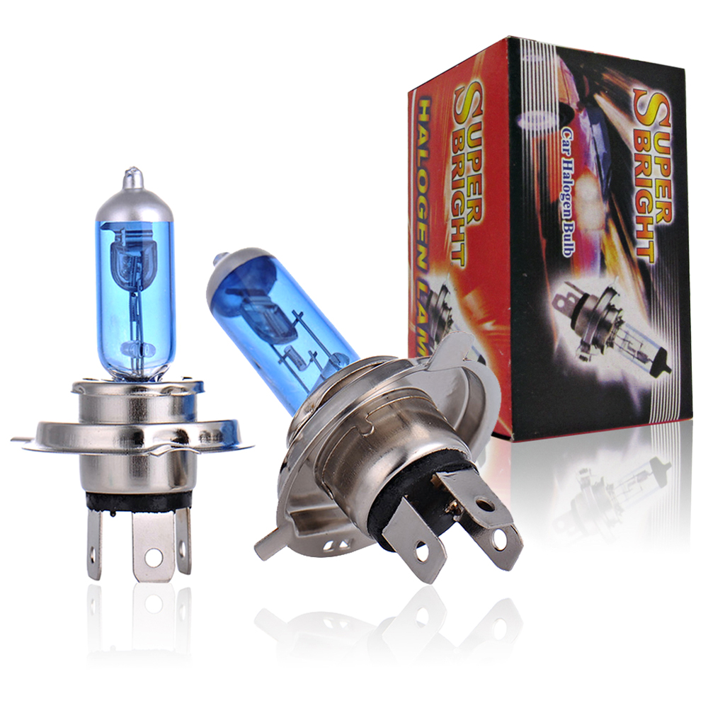 2Pcs Car Light Bulb H1 H3 H4 H7 <font><b>H8</b></font> H9 H11 9005 HB3 9006 HB4 Auto <font><b>Halogen</b></font> Lamp Fog Lights 55W 12V Super <font><b>White</b></font> Headlights image