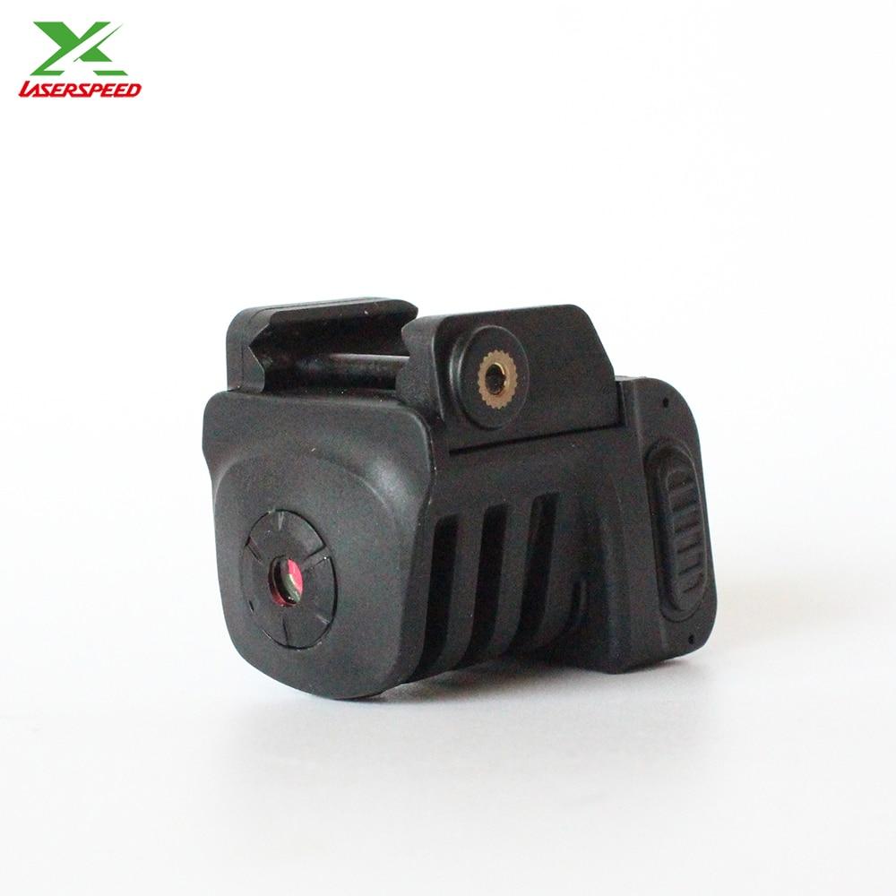 Livraison directe FDA 532nm tactique mini pistolet réglable vert laser chasse visée laser pour glock pistolets beretta