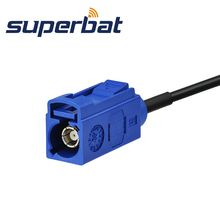 """Superbat Fakra""""C"""" Female Jack Straight to Fakra """"C"""" Jack Straight Pigtail RG174 6M GPS Antenna Extension Cable"""