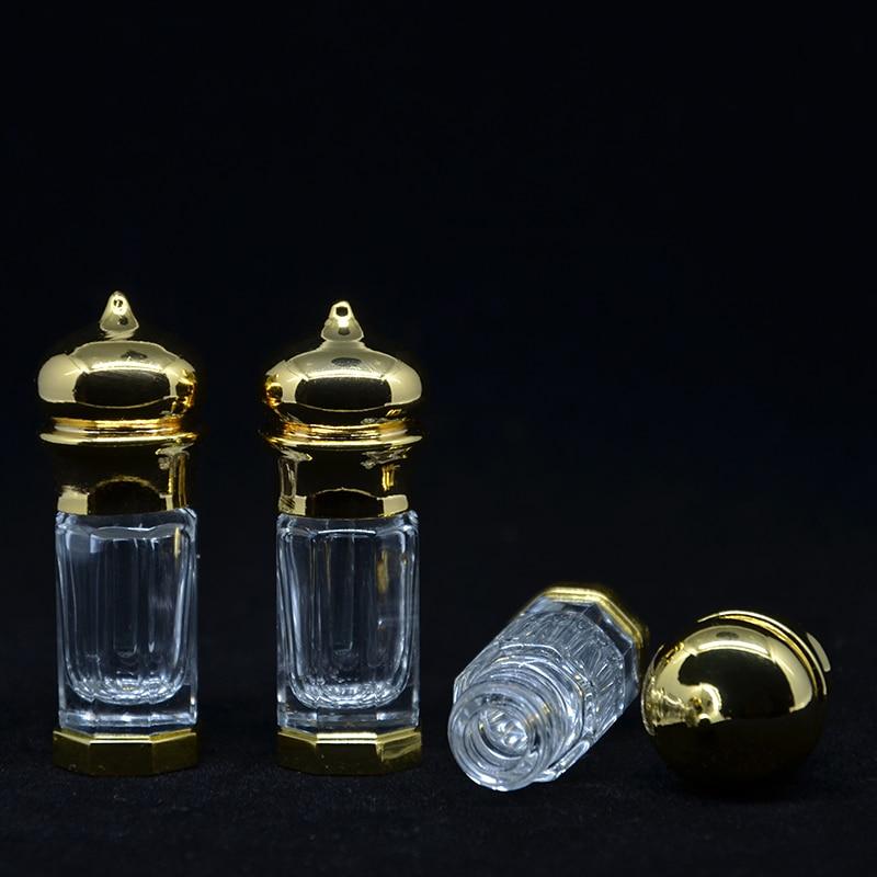 3 ml (1 stuks / partij) Goud En Bronskleur 3 CC Mini Legering Fles - Huidverzorgingstools - Foto 2