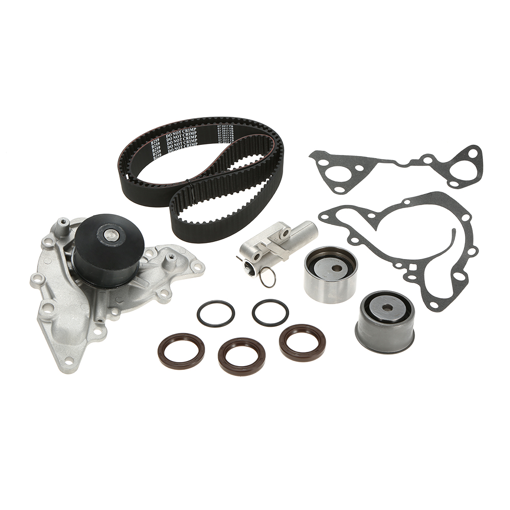 Timing Belt Water Pump Kit Fits for Chrysler Dodge Mitsubishi 3.0L 6G72 6G73 95-05 Most Complete Line Of timing Belt Water Pump