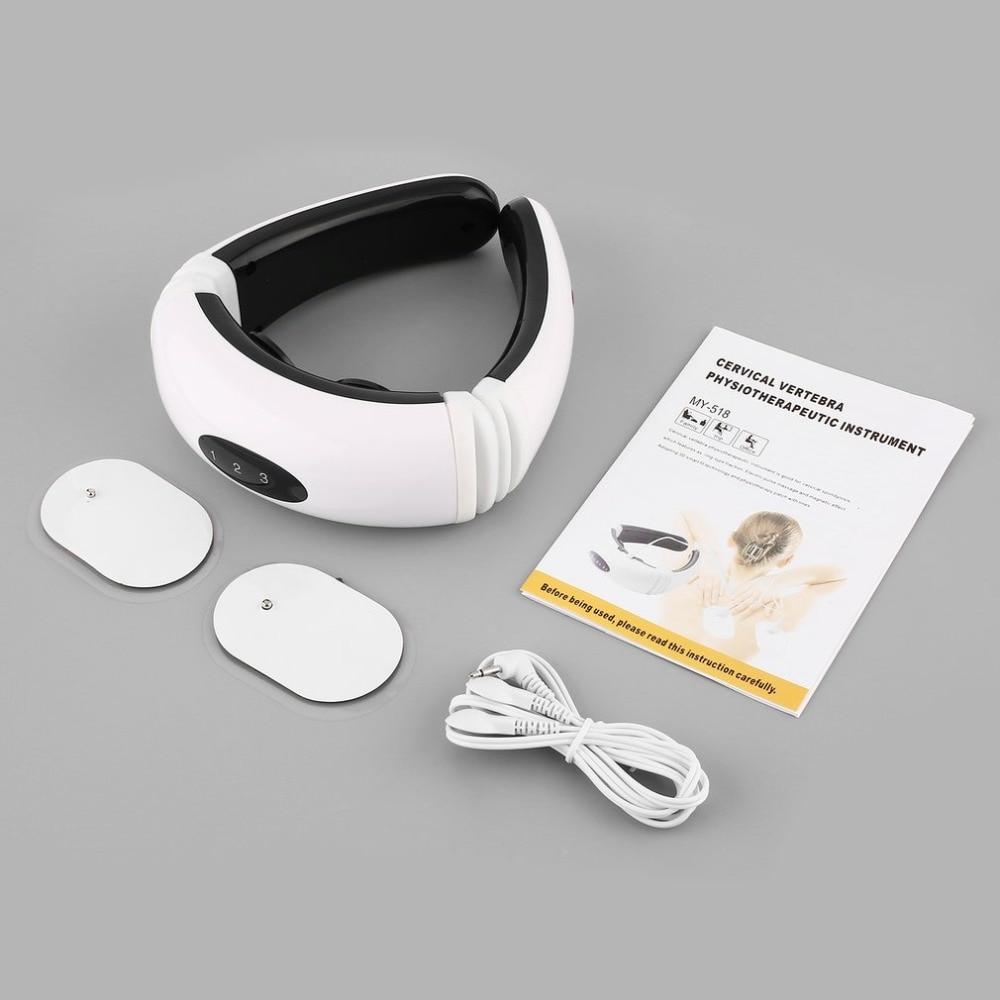 Новая магнитная терапия массажер для шеи шейного позвонка физиотерапевтические Защита Спонтанное Отопление Пояс Массажер для тела