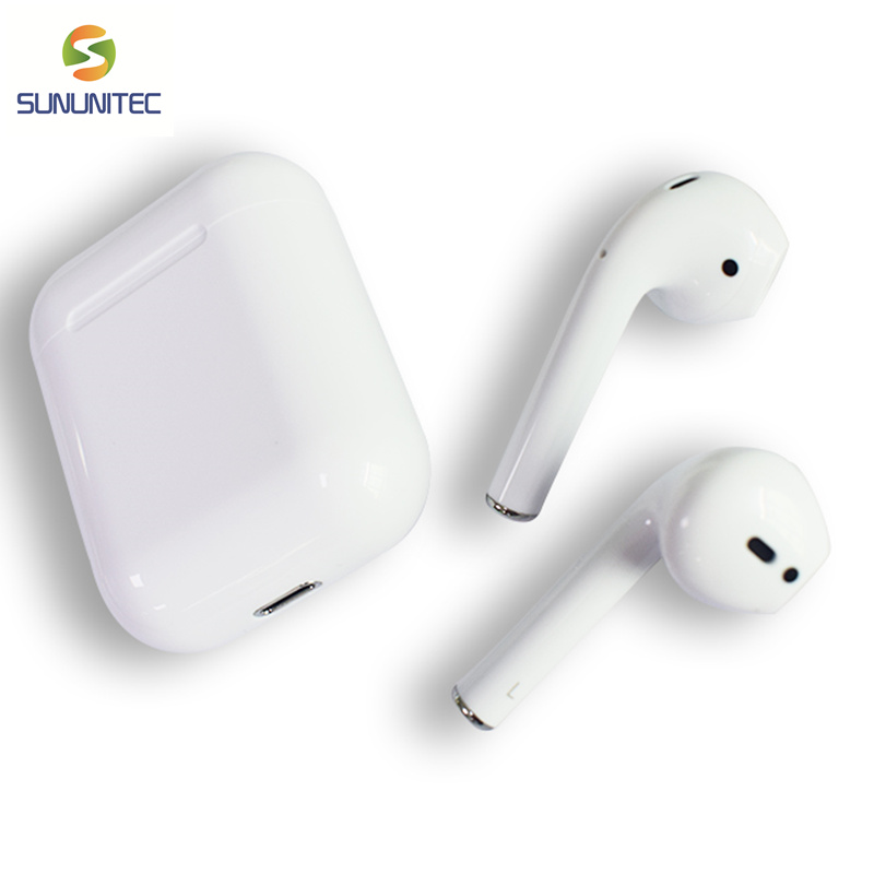 Mini <font><b>TWS</b></font> Earbuds <font><b>I19</b></font> Touch Control Wireless True 5.0 <font><b>Bluetooth</b></font> Earphone Wireless Charging Box Case Stereo Headset for All Phone image
