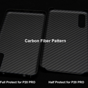 Image 5 - Luxury Phone Case For Huawei P20 Pro Cover Ultra Thin Matte Aramid Fiber Case For Huawei P20   Carbon Fiber Pattern