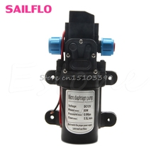 5.5L/Min DC12V 80W 0142 Motor High Pressure Diaphragm Water Self Priming Pump Drop Ship