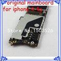 Preço de atacado 16 gb para iphone 4 4g motherboard bom trabalho original placa lógica mainboard oem para apple 4 4g com o sistema ios