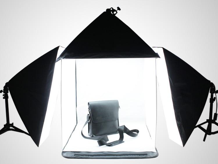 60 cm Portable square Mini Light Tent Kit + 4 Pcs Color Background Studio Light Tent+3PCS 50*70cm Softbox+2pcs Light Stand-in Photo Studio Accessories from ... & 60 cm Portable square Mini Light Tent Kit + 4 Pcs Color Background ...
