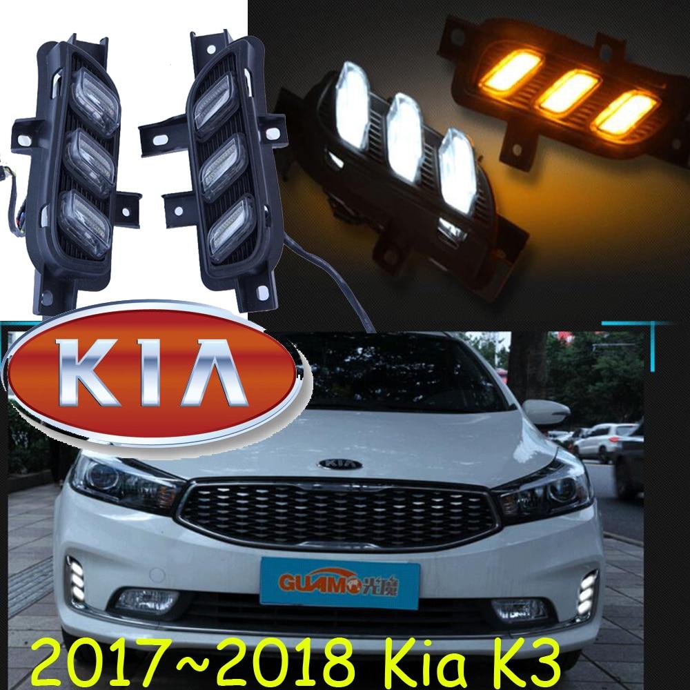 2017~2018 Cerato-в январе дневной свет,свободный корабль водить!2шт,автомобиль-детектор, К3 противотуманные фары,авто-чехлы,К3 световой день,седона,Форте,sportageR,К2, К5