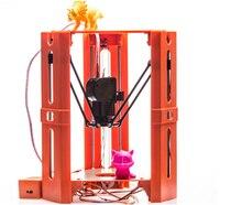2017 de Alta Calidad Mejorada MiNi Escritorio 101 Héroe Delta Kit DIY Muñeca 1.75mm Filamento Impresora 3D DV Versiones Envío gratis