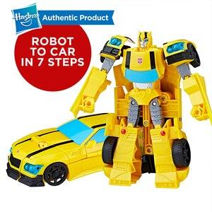 Image 3 - Hasbro Transformers Cyberverse oyuncaklar 7.5 inç Starscream Grimlock Slipstream Shockwave Optimus Prime Bumblebee gölge forvet