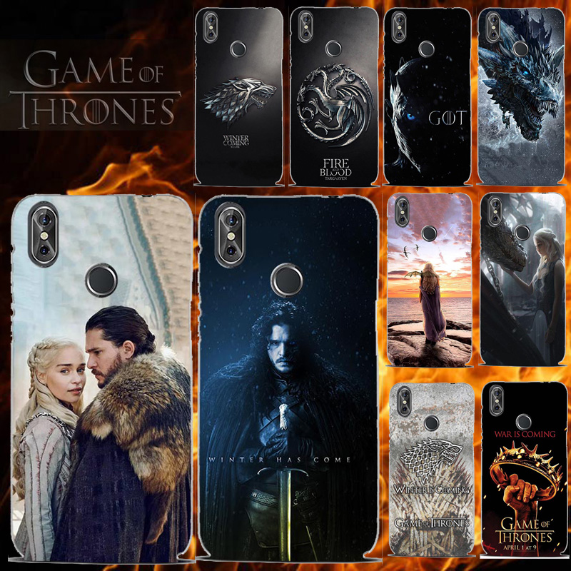 Phone Case For Cubot P20 X19 J3 J7 Pro NOVA Power X18 Magic Note Plus S Max Rainbow 2 R11 R9 R19 R15 H3 Cover for Game Of Throne(China)