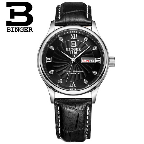 Switzerland Mens Watches Top Brand Luxury Binger Casual Military Quartz Sports Wristwatch Male Clock Watch Men Relogio Masculino switzerland binger watches men luxury top brand new fashion army designer quartz watch male wristwatch relogio masculino relojes