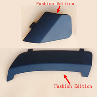 1 pair Front & Rear Bumper Towing Eye Hook Trailer Cover Replacement For Ford Fashion Edition Fiesta MK7 2008 2016