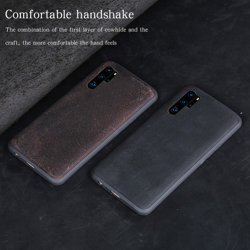 Genuine PULL UP Leather phone case for Huawei P20 pro P30 Pro Lite mate 20 pro Lite 360 full cover For Honor 20 20 Pro 8X V20 10 in Half wrapped Cases from Cellphones Telecommunications