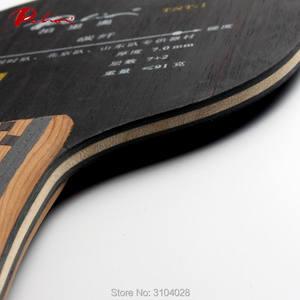 Image 5 - Palio Hoja de tenis de mesa oficial TNT 1, madera 7, 2 de carbono, ataque rápido con bucle especial para el equipo de ping pong de beijing shandong