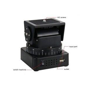 Image 3 - Supon YT 260 RF Télécommande RC Motorisé Dinclinaison de Casserole pour Caméras Téléphones Mobiles Gopro Sony avec 1/4 pouces plaque