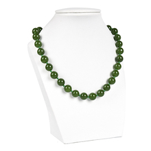 Full green and fruity shape and smooth  10 mm Malay jasper necklace shipping the necklace . modernization and the malay matrimonial foodways
