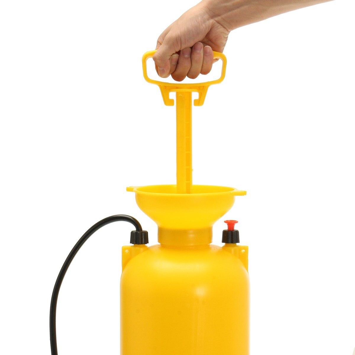 Pratique 8L Portable nettoyeur haute pression pompe de pulvérisation de lavage de voiture brosse tuyau Lance nettoyant outil d'entretien - 3