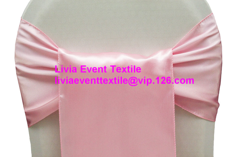 130pcs Satin Chair Sash 20x270cm ,Wedding Chair Sash,Satin Chair Sash&Chair Sash Bow &Tie For Wedding Events &Party Decoration