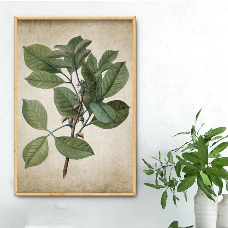 Green Plant Canvas Art Prints Home Decoration
