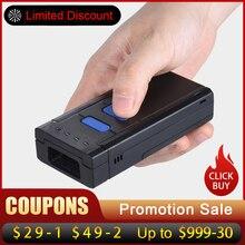 Barcode Scanner Reader-Bar 1D Supermarket Light/laser Bluetooth USB for Red
