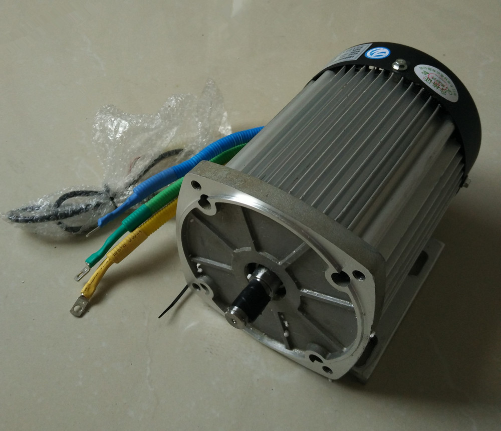 BM1424 1000w 1200W <font><b>1500W</b></font> 1800W 2200W DC48v <font><b>60V</b></font> 72V brushless <font><b>motor</b></font> without gearbox, Electric car BLDC <font><b>motor</b></font> image