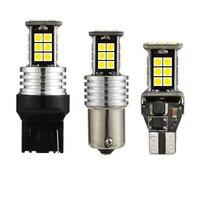 100 шт. 200 шт. 300 шт. оптовая продажа автомобиля T15 T20 светодио дный Реверс W16W 1156 Резервное копирование свет CANBUS Ошибок 24SMD 3030 светодио дный лампа