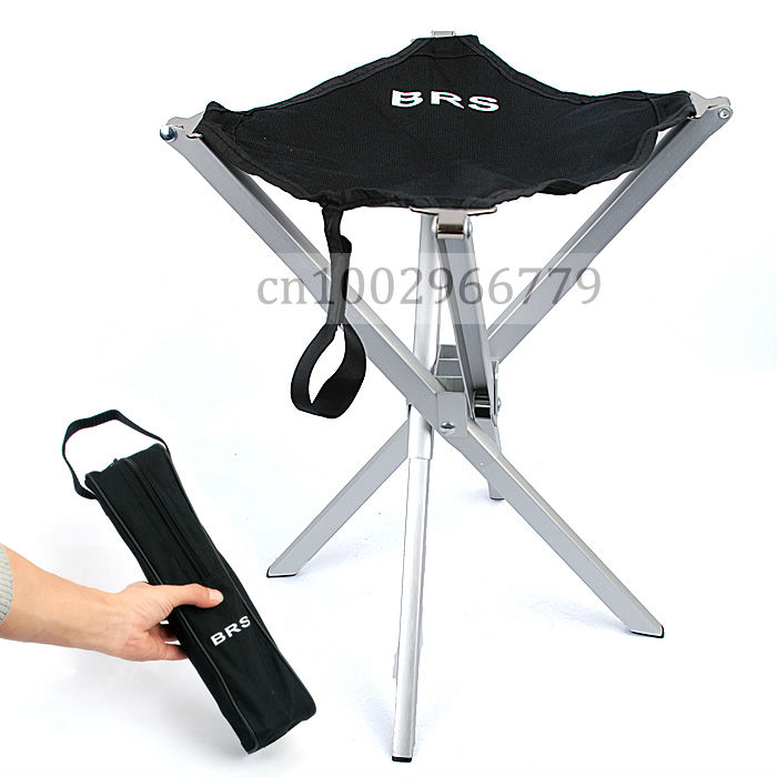 Outdoor Aluminum Alloy Ultralight Portable Folding Stool